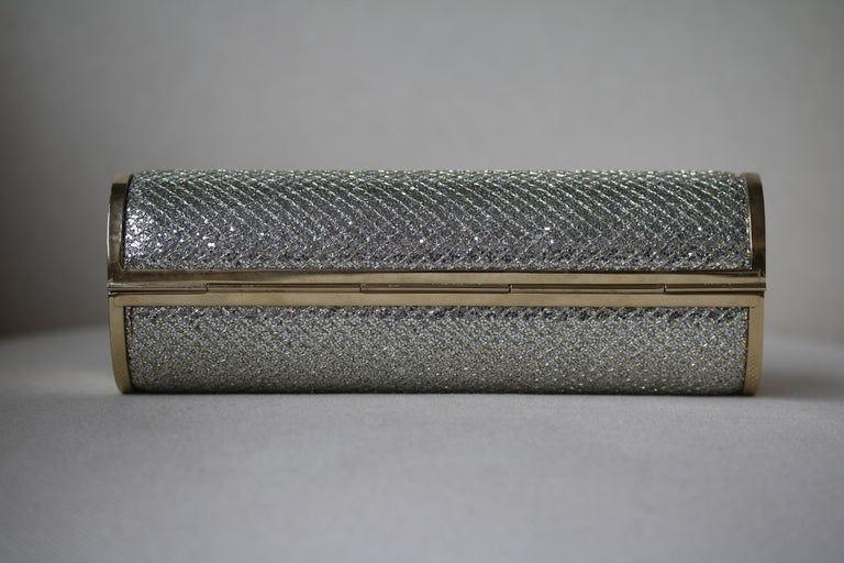 Women's Jimmy Choo Glitter Cosma Clutch For Sale