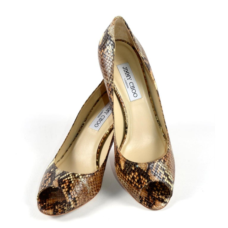 These are great Jimmy Choo Isabel shoes with just under 3