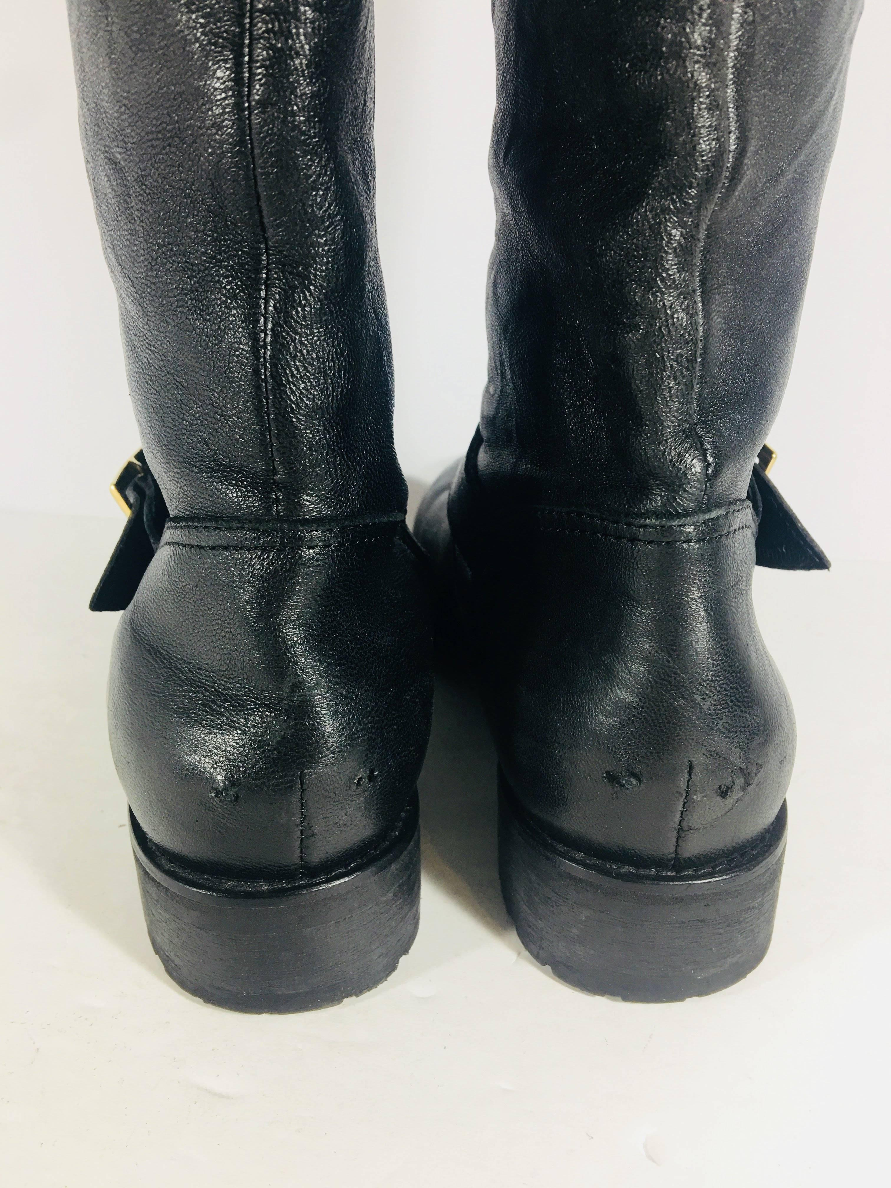 Jimmy Choo Motorcycle Boots On Sale