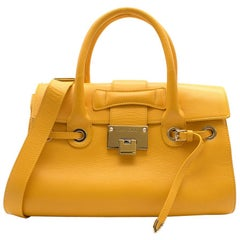 Jimmy Choo Mustard Yellow Bag 30cm
