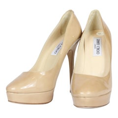 Jimmy Choo Nude Stilettos