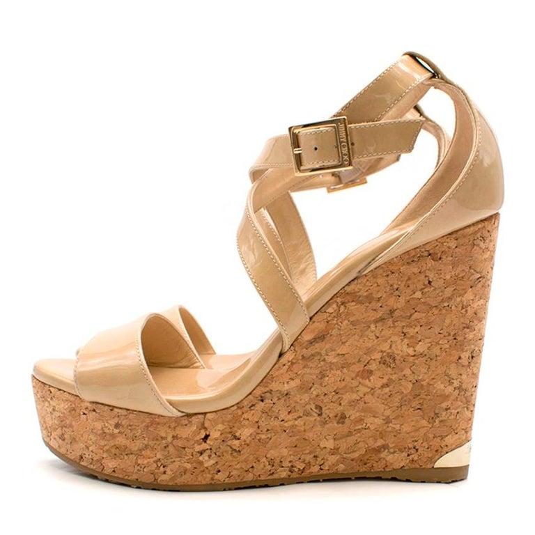 Nude Cork Sole Sandals - matalan.com.eg