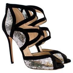 Jimmy Choo 'Tempest' Sequin Sandal