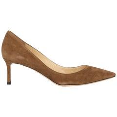 Jimmy Choo Woman Pumps Brown Leather IT 41