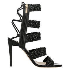 Jimmy Choo Woman Sandals Black EU 37.5
