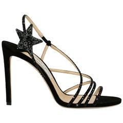 Jimmy Choo Woman Sandals Black EU 40