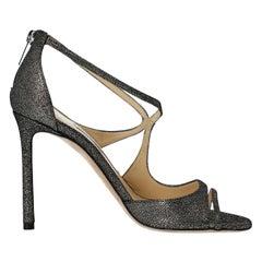 Jimmy Choo Woman Sandals Silver EU 36.5