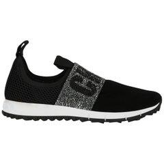 Jimmy Choo Woman Sneakers Black EU 39