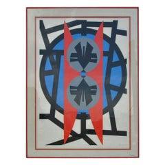 Jimmy Ernst Lithograph Plate V, 1970