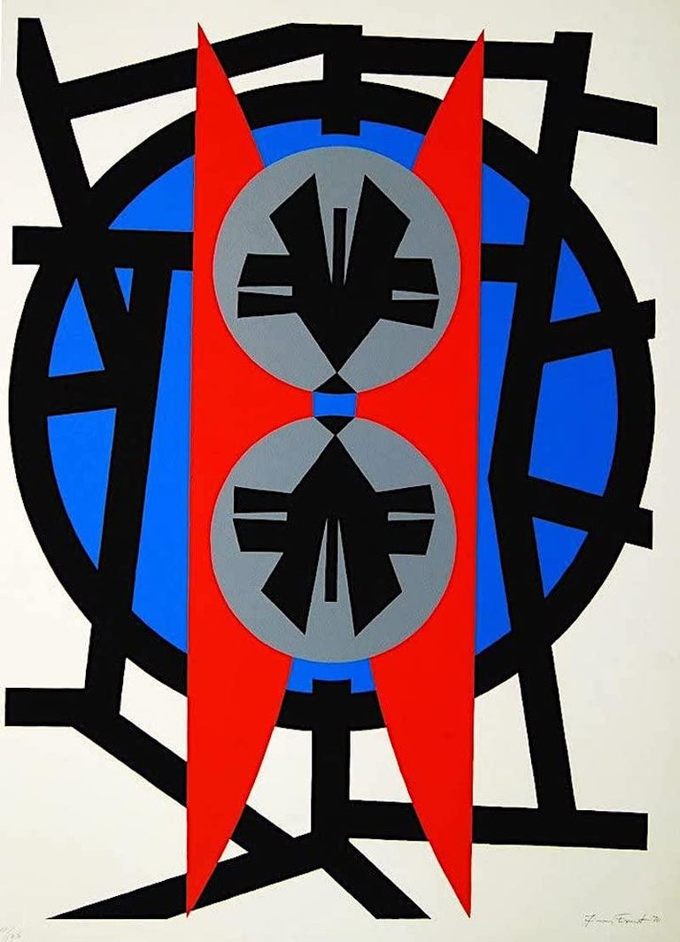 Jimmy Ernst Abstract Print - Plate V