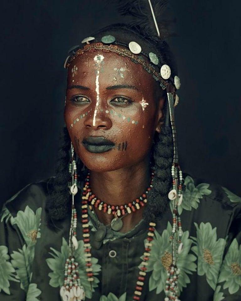 Jimmy Nelson Figurative Photograph - XXVIII 8 // XXVIII Wodaabe, Chad