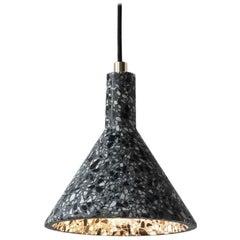 JIN Pendant Lamp, Black Terrazzo
