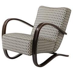 Jindrich Halabala Chairs Model H269, Czechoslovakia, 1950's