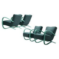 Jindřich Halabala Customizable Lounge Chairs