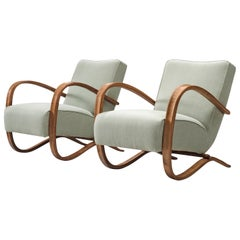 Jindrich Halabala Customizable Lounge Chairs