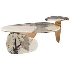'JinYe' Coffee Table Featuring Patagonian Quartzite by Studio MVW