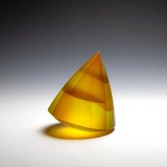 """Foreigner, Cone Segmentation"", Contemporary, Glass, Sculpture, Carved, Laminate"