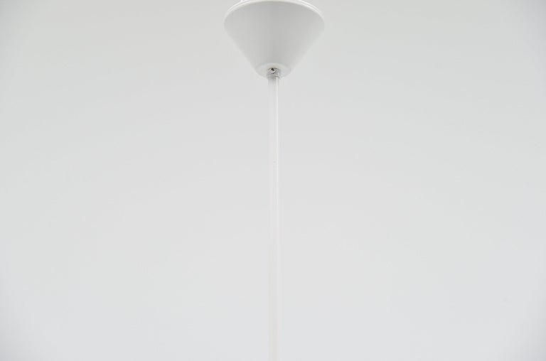 JJM Hoogervorst Anvia Counter Balance Ceiling Lamp, Holland, 1957 In Good Condition For Sale In Roosendaal, Noord Brabant