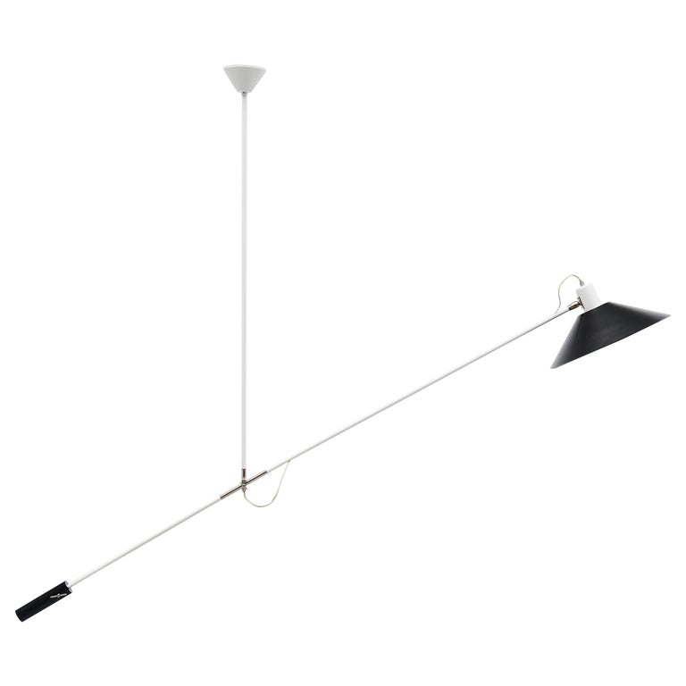 JJM Hoogervorst Anvia Counter Balance Ceiling Lamp, Holland, 1957 For Sale