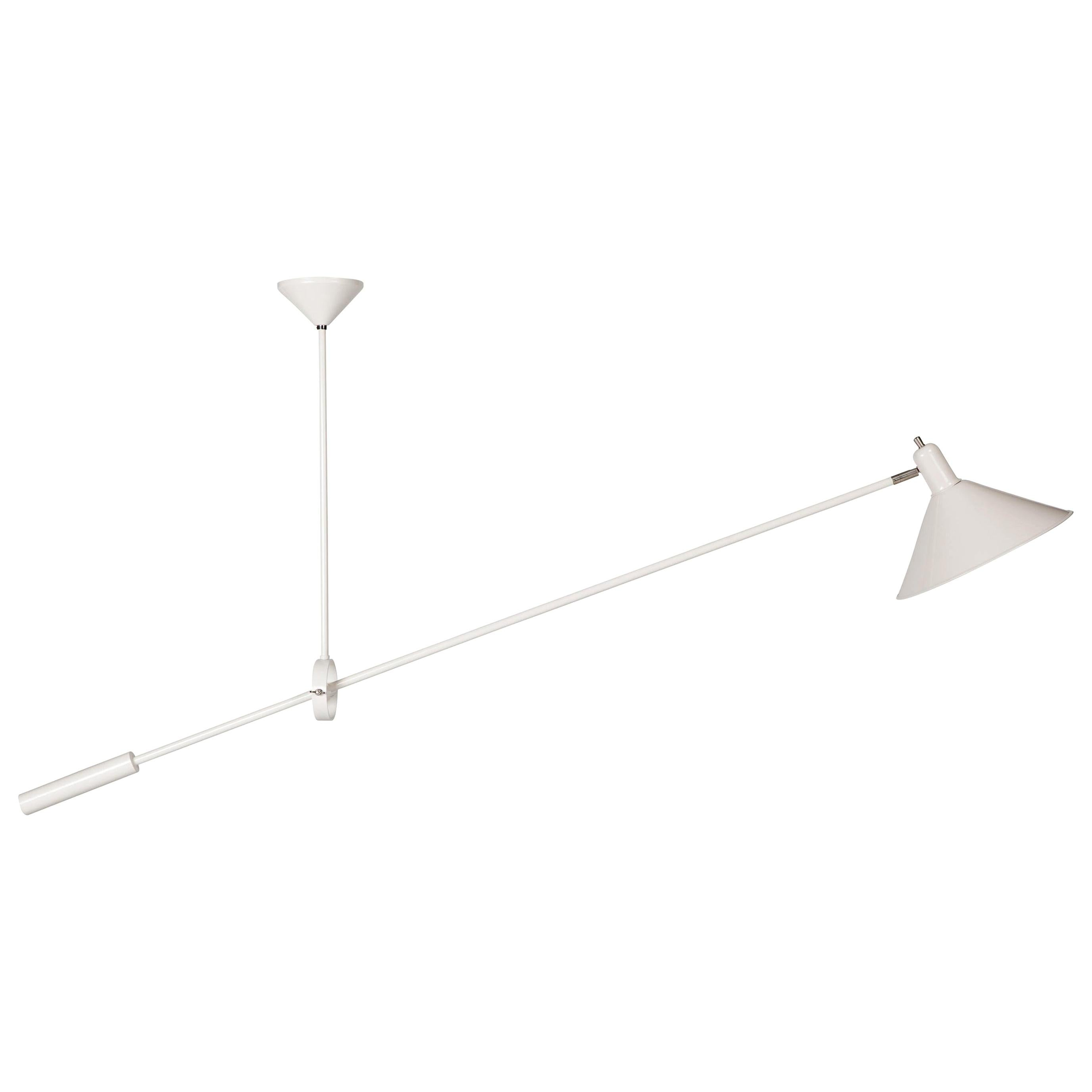 J.J.M. Hoogervorst Counterbalance Ceiling Light in White for Anvia