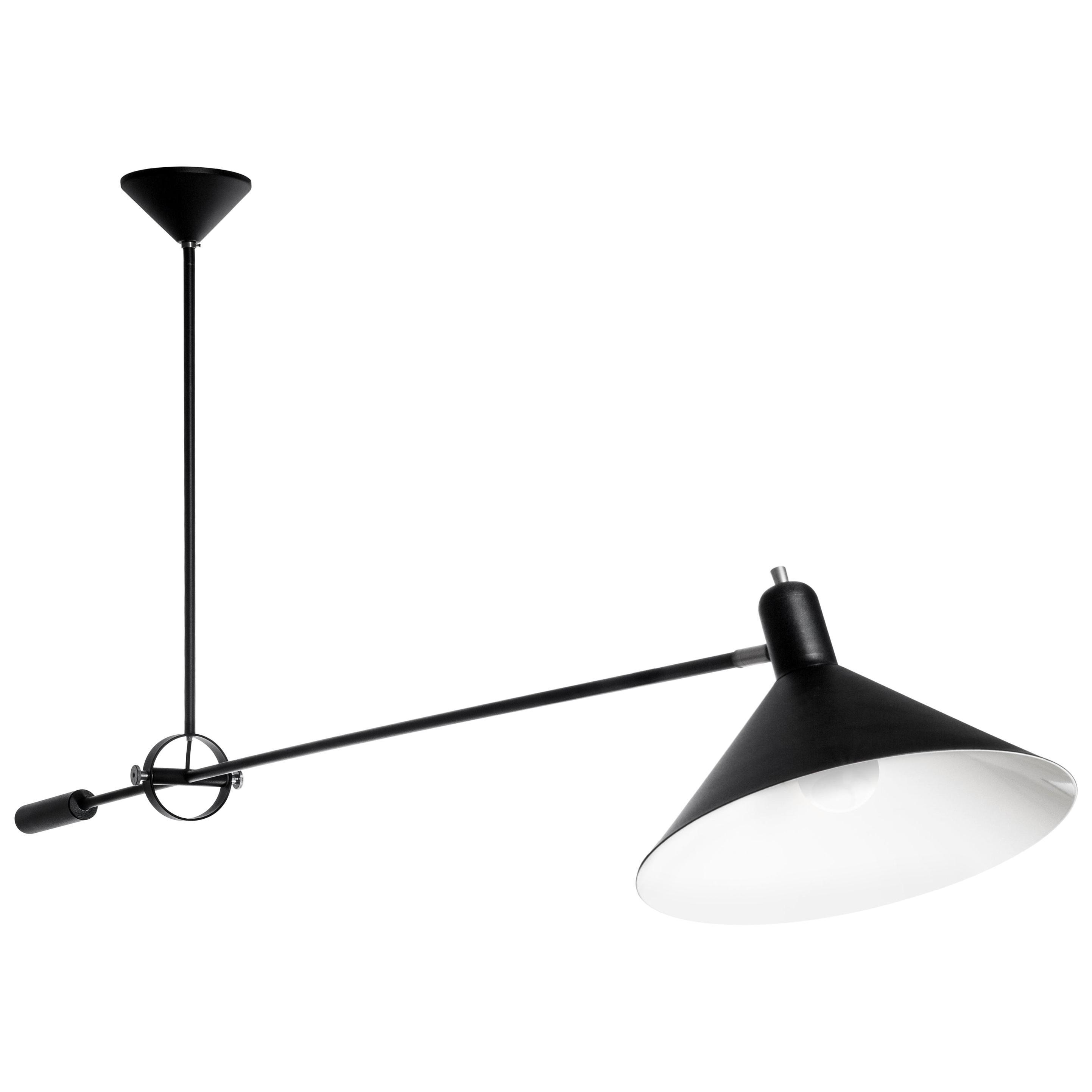 J.J.M. Hoogervorst Model #1506 Counterbalance Ceiling Light for Anvia