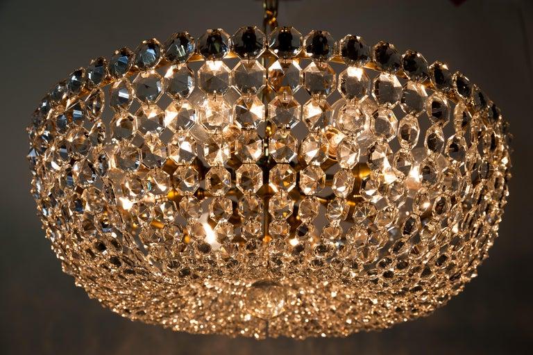 J.L Lobmeyr chandelier around 1950s ( Signed ) For Sale 10