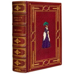 "J.M. Barrie ""Quality Street"" Book"