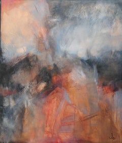 Jo Jenkins, A Snatched Saturday Afternoon, Original Landscape Painting
