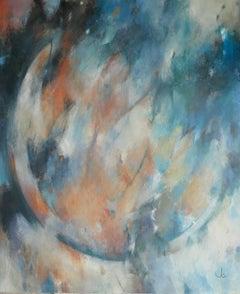Jo Jenkins, Big Bang 1, Affordable Original Art, Abstract Painting,