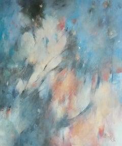 Jo Jenkins, Big Bang 2, Abstract Painting, Original Oil Painting, Affordable Art