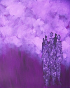 Shaman Singers V, Painting, Oil on Canvas