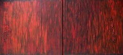 We'll Always Have September--diptych, Painting, Oil on Wood Panel