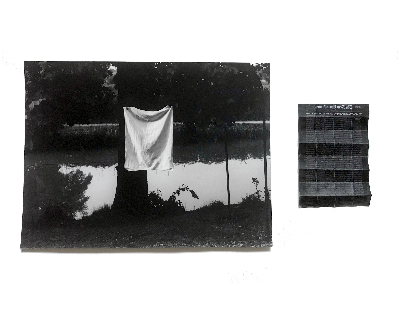 Jo Yarrington, Conversation with Lovejoy, 2020, photo wax Xerox_combined 10 x 18
