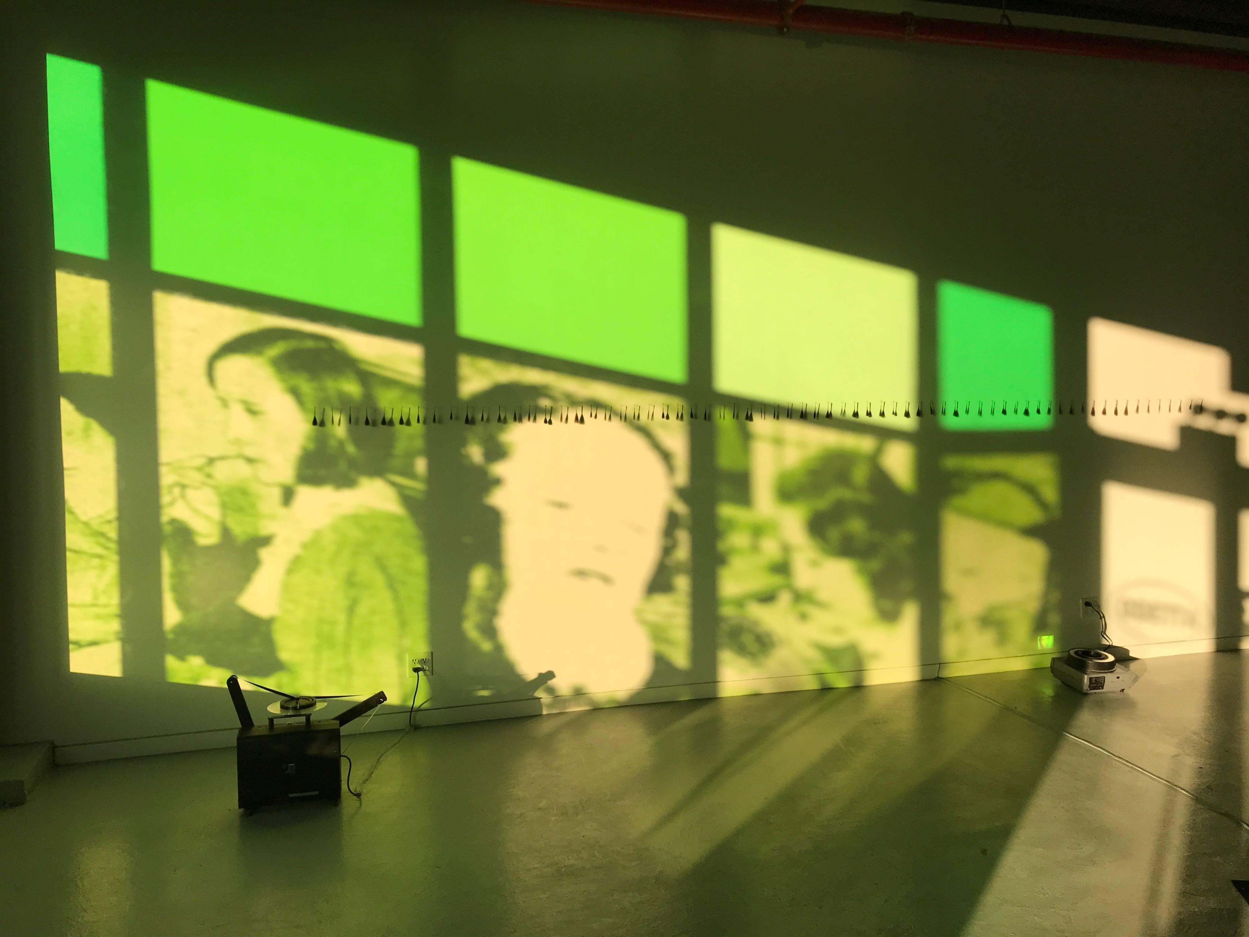 Jo Yarrington, Ghost Girls Window Transparencies, 2018, Digital Print, Plastic