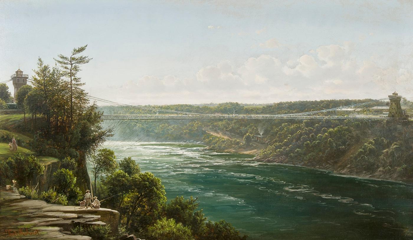 Suspension Bridge over the Niagara River