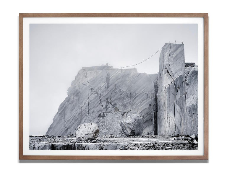 Joachim Schmeisser Abstract Photograph - The stage I,  21st century, contemporary, marble