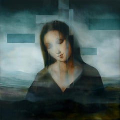 Madonna III, contemporary religious painting