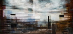 Spectrum I, Large-Scale Semi-Abstract Landscape Painting