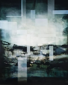 The aftermath I, Abstract Landscape Painting