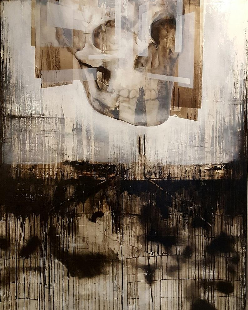 The Age of Reason I (Contemporary Vanitas Painting, Large-scale)