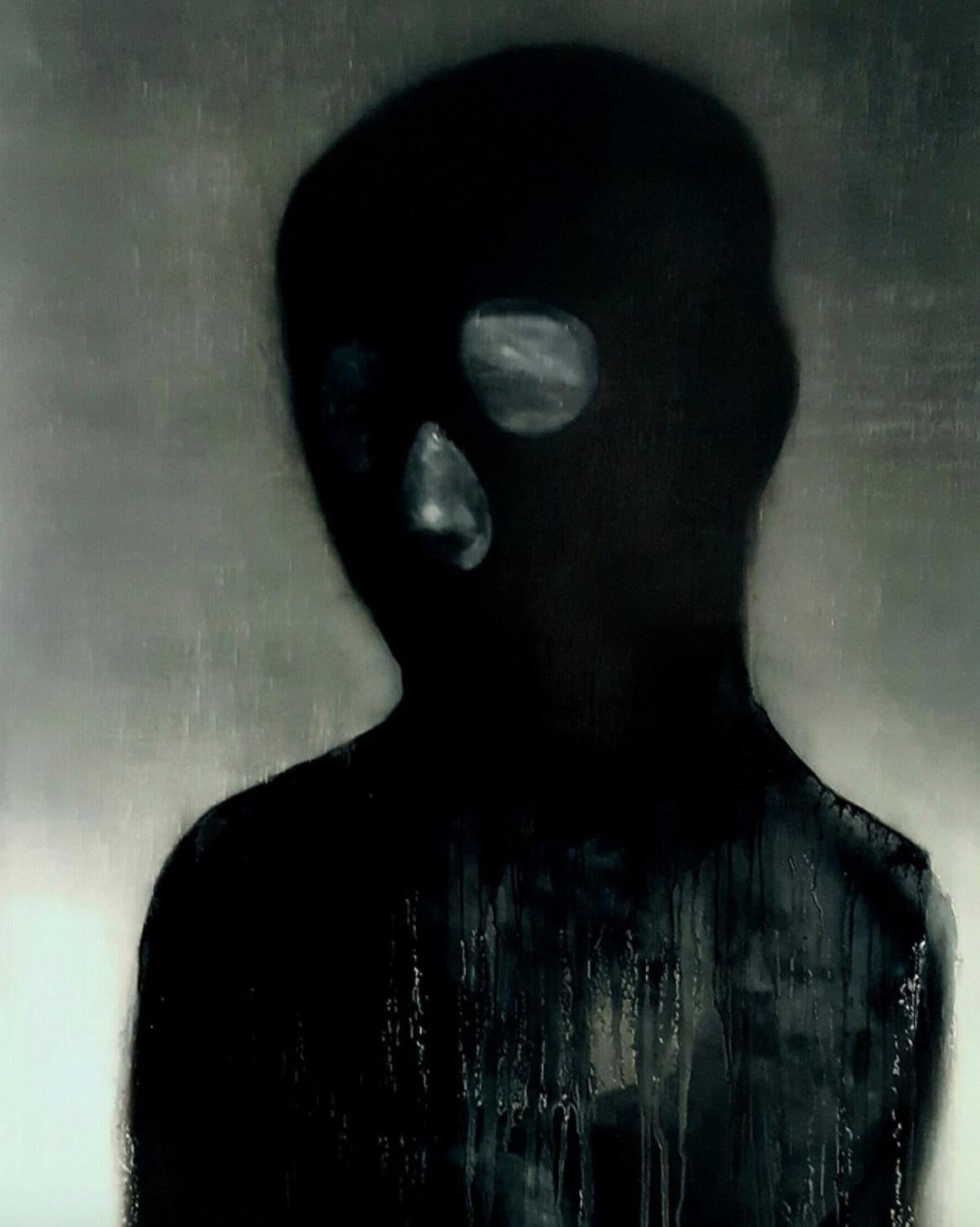 The Armour I (Contemporary portrait painting)