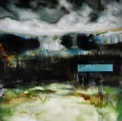 Unchartered I by Joachim van der Vlugt - Semi-Abstract Painting