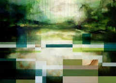 Unchartered II - Large-scale Semi-Abstract Painting