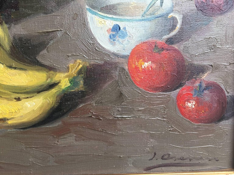 Fruits - original Still-life acrylic Painting For Sale 3