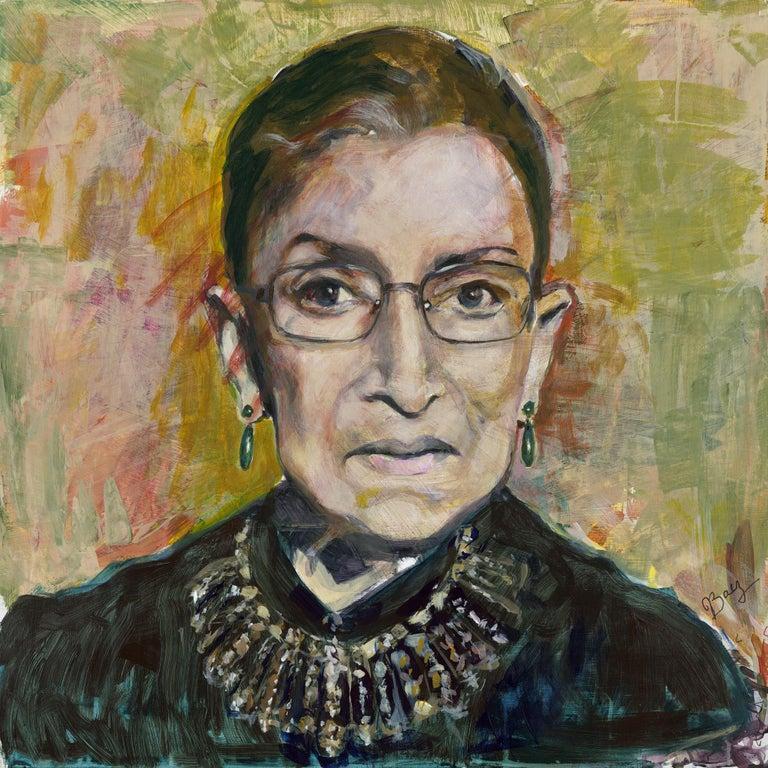 Joan Baez Portrait Print - The Glorious Notorious RBG