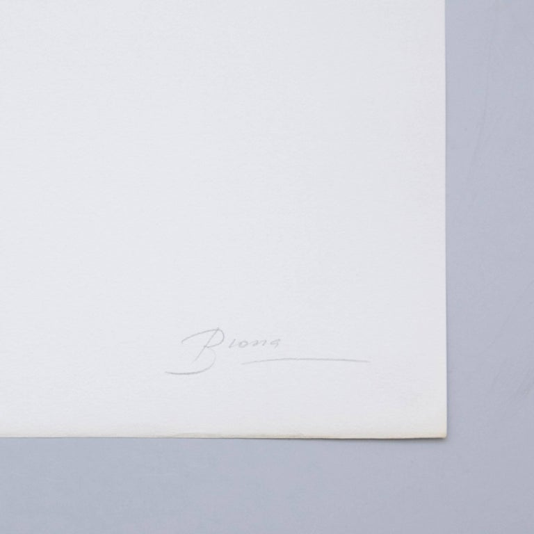 Visual poem made by Joan Brossa, circa 1989.  Graphic print. Lithograph on Guarro Paper. Limited edition (77). Signed and Numbered. Year: 1989  Measures: Width 38 cm (15 in) Height 50 cm (20 in)  Joan Brossa - Barcelona, Spain