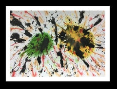 colors- original abstract acrylic painting