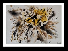 Constellation- Original abstract acrylic on paper painting