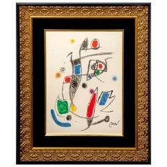 Joan Miró, Abstract Original Lithograph