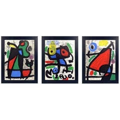 Joan Miró Lithographs